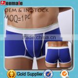 Without Logo Openly Sex Photo Men Underwear Bamboo Fiber Boxers Custom SC23