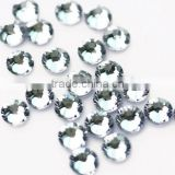 Crystal clear hotfix flat back rhinestone