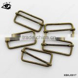42x20.50mm Rectangle Metal Buckle Adjustable Zinc Alloy Plating Bags Buckle Bag Hardware Accessories for Bags Garment Shoes
