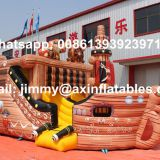 Cheap Factory Price PVC Outdoor Inflatable Equipments,Giant Commercial Pirate Ship Inflatable Bouncy Castle For Sale