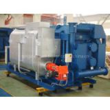 direct-fired absorption chiller