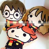 Hotsale Harry Potter Hermione plush toy Movie cartoon character soft kids Plush Toy 3D Plush Toy Pillow