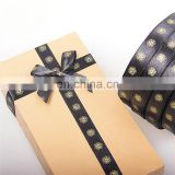 customized printed ribbon bows for packing