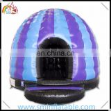 Wholesale colorful inflatable disco bouncer,jumping castle disco dome, inflatable bouncer disco
