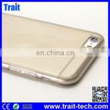 Top Selling Ultrathin Translucent Flexible Soft TPU Case with Dust Plug for iPhone 6 4.7 inch,tpu case for iphone 6