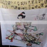 2015 Square Silk Scarf With Character On From Big Factory Zhen Bang