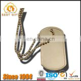 Custom High Quality Blank Zinc Alloy Dog Tags