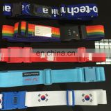 China direct 3 Digits Combination Lock Rainbow Style Nylon Luggage Strap wholesale