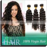 Factory Price Supply 100% Queen Weave Beauty Malaysian Curly