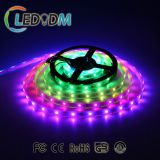 Animated waterproof 14.4W 60leds/m dimmer 5050 flexible led strip