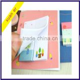 China school stationery custom shaped funny sticky note