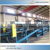EPS Roof Sandwich Wall Panel Production Machine Line/rockwool sandwich panel wall panel production line
