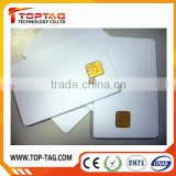 Shenzhen Manufacturer professional printing blank PVC smart Contact IC card for access control