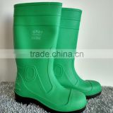 wholesale green pvc shoes for industry men working