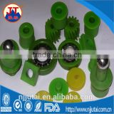 CNC machining oil green nylon roller/gear/block/shim pad spare parts                                                                                                         Supplier's Choice