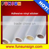 high quality self adhesive vinyl for car and bus printing, removable self adhesive vinyl