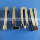 Compet Produce & Wholesale Sufficient Polished High Quality Zinc Alloy Metal 18mm Plain Alphabets Slide Letters