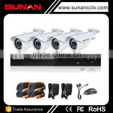 4CH Full HD 1080P AHD Kit camera surveillance system, security camera system 1080p, digital video surveillance system