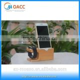 Factory Wholesale Bamboo wood stand for apple watch for iphone