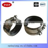 Good Supplier EN877 4 Inch Wastewater Treatment B Type System Clamp Rigid Coupling Manufacturer