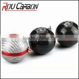 Carbon Fiber yacht car gear knob head