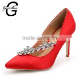 7 Colors Big Plus Size Women Pumps Sexy Pointed Toe Shoes Brand New Design Dress Party Wedding High Heels Shoes Women