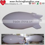 4.5mL white PVC inflatable advertising blimp shape balloon