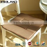 Spring and Autumn Brown Seat Foam Chair Pad Ties Chair Pad