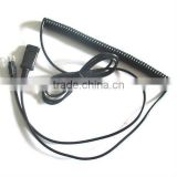 RJ9/RJ11 to QD Cable for Avaya/Siemens/Alcatel telephones