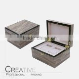 Factory supply display box with wooden wrist watch storage box wholesale