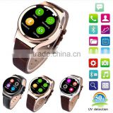 Bluetooth Smart Watch T3+ Heart Rate UV Detection WristWatch SIM TF Card Smartwatch For Android iOS Smart Watch T3+