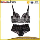 Girls removing bra and panty young girl lace sexy transparent net bra panty                                                                                                         Supplier's Choice