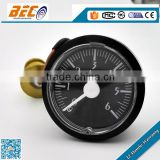 (YM-40D) 40mm unique black background white scale bar low pressure capillary temperature gauge manometer