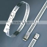 7x600mm Made In China Wholesale Naked Ladder Type Stainless Steel Cable Tie