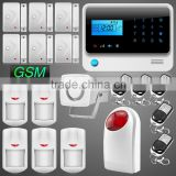 5% Off Five Voice Prompt App Controlled GSM RFID Home Security Alarm System with Wireless Flash Light Siren