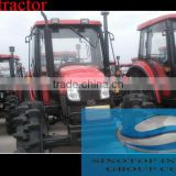 Farm middle horsepower tractor YTO 400HP/404HP /450HP/454HP 2WD/4WD