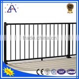 High Style Modestly Priced Silver Anodized Aluminum Balcony Safety Fence