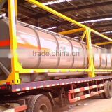 Dongte Chemical tank / Plastic-lined steel chemical tank trailer / chemical can/ chemical container