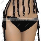 Factory Custom Wholesale cotton handmade Strappy Swimwear Bikini and Beach Shorts                                                                         Quality Choice