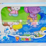 2012 hot item, baby music play mat, Little Horse Crossing the River