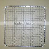 Square shape barbecue grill wire mesh,stainless steel barbecue grill wire mesh,barbecue grill wire mesh