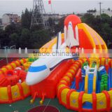 Airplane Giant Outdoor Kids Fun World Inflatable Amusement park