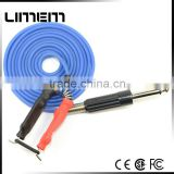 New Professional bule color good quality silicone Long Clip Cord For Tattoo Machine tattoo gun