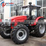 Red Color 55HP 4WD Tractor with Front End Loader