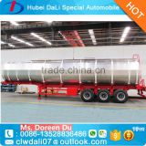 Factory directly sell Tri-axles Coupled Trucks stainless steel fuel tank trailer with cheap price