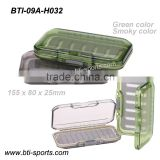 Exclusive wholesale fly fishing hook box Waterproof plastic fly box fly fishing box BTI-09A-H032