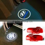 IP65 Special LED Car Logo Door Light 12V Laser Projector Lamp For Hyunda i With CE Certificate