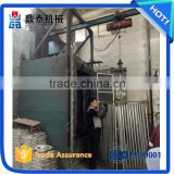 Motorcycle frame derusting hook type shot blasting machine, strengthen shot blasting cleaning machine