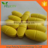 2015 Hot Sell High Quality Pure organic Food Grade Halal 1000mg Multivitamin Tablets in Immune & Anti-Fatigue