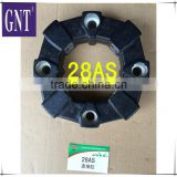 excavator parts engine 28AS rubber coupling assy                                                                         Quality Choice